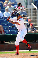 Portland Sea Dogs shortstop Xander Bogaerts #16 during a game versus the Reading Phillies at Hadlock Field in Portland, Maine on September 3, 2012.  (Ken Babbitt/Four Seam Images)