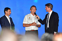 JACKY ICKX (BEL) GRAND MARSHALL 24 HOURS OF LE MANS 2018 PIERRE FILLON (FRA) PRESIDENT AUTOMOBILE CLUB DE L'OUEST