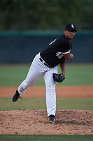 AZL White Sox relief pitcher Vladimir Nunez (48) during an Arizona League game against the AZL Padres 2 on June 29, 2019 at Camelback Ranch in Glendale, Arizona. The AZL Padres 2 defeated the AZL White Sox 7-3. (Zachary Lucy/Four Seam Images)