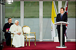 State visit of Pope Benedict XVI to UK, photographed for The Foreign and Commonwealth Office