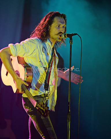 FORT LAUDERDALE FL - JUNE 10: Eugene Hutz of Gogol Bordello performs at Revolution on June 10, 2016 in Fort Lauderdale, Florida. Credit: mpi04/MediaPunch