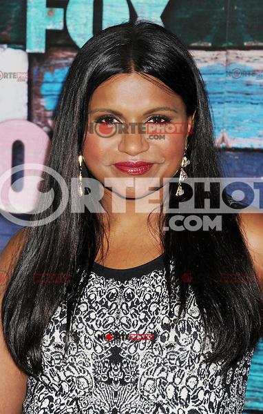 WEST HOLLYWOOD, CA - JULY 23: Mindy Kaling arrives at the FOX All-Star Party on July 23, 2012 in West Hollywood, California. / NortePhoto.com<br /> <br /> **CREDITO*OBLIGATORIO** *No*Venta*A*Terceros*<br /> *No*Sale*So*third* ***No*Se*Permite*Hacer Archivo***No*Sale*So*third*©Imagenes*con derechos*de*autor©todos*reservados*. /eyeprime