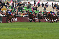 October 07, 2018, Longchamp, FRANCE - Wild Illusion with William Buick up winning the Prix de l'Opera Longines (Gr. I) at ParisLongchamp Race Course  [Copyright (c) Sandra Scherning/Eclipse Sportswire)]
