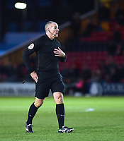 Referee Graham Salisbury<br /> <br /> Photographer Andrew Vaughan/CameraSport<br /> <br /> Emirates FA Cup First Round - Lincoln City v Northampton Town - Saturday 10th November 2018 - Sincil Bank - Lincoln<br />  <br /> World Copyright &copy; 2018 CameraSport. All rights reserved. 43 Linden Ave. Countesthorpe. Leicester. England. LE8 5PG - Tel: +44 (0) 116 277 4147 - admin@camerasport.com - www.camerasport.com