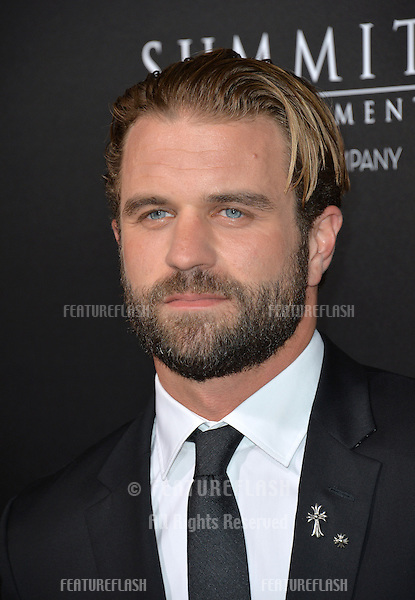 LOS ANGELES, CA. October 24, 2016: Actor Milo Gibson, son of Mel Gibson, at the Los Angeles premiere of &quot;Hacksaw Ridge&quot; at The Academy's Samuel Goldwyn Theatre, Beverly Hills.<br /> Picture: Paul Smith/Featureflash/SilverHub 0208 004 5359/ 07711 972644 Editors@silverhubmedia.com