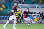 AC Milan Midfielder Hakan Calhanoglu (R) in action during the International Champions Cup 2017 match between AC Milan vs Borussia Dortmund at University Town Sports Centre Stadium on July 18, 2017 in Guangzhou, China. Photo by Marcio Rodrigo Machado / Power Sport Images