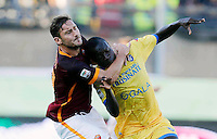 Francesco Totti  Raman Chibsah during italian serie a soccer match between Frosinone e Roma