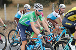 Green Jersey Alejandro Valverde (ESP) Movistar Team in action during Stage 10 of the La Vuelta 2018, running 177km from Salamanca to Fermoselle. Bermillo de Sayago, Spain. 4th September 2018.<br /> Picture: Unipublic/Photogomezsport | Cyclefile<br /> <br /> <br /> All photos usage must carry mandatory copyright credit (&copy; Cyclefile | Unipublic/Photogomezsport)
