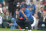 Ryder Cup 206 K Club, Straffan, Ireland..European Ryder Cup team player Jose Maria Olazabal on the edge of the 9th green during the morning fourballs session of the second day of the 2006 Ryder Cup at the K Club in Straffan, Co Kildare, in the Republic of Ireland, 23 September 2006...Photo: Eoin Clarke/ Newsfile.
