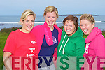 7 FROGS TRIATHLON: Enjoying the 7 Frogs Triathlon in the Maharees on Saturday l-r: Sarah O'Flannaghan, Rebecca Mullan, Louise Slater and Grainne O'Connor.