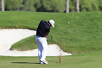 Hideto Tanihara (JPN) plays his 2nd shot on the 9th hole during Saturday's Round 3 of the 2018 Turkish Airlines Open hosted by Regnum Carya Golf &amp; Spa Resort, Antalya, Turkey. 3rd November 2018.<br /> Picture: Eoin Clarke | Golffile<br /> <br /> <br /> All photos usage must carry mandatory copyright credit (&copy; Golffile | Eoin Clarke)