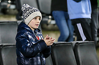 Fleetwood Town fan applauds his side's efforts at the end of the match<br /> <br /> Photographer Andrew Kearns/CameraSport<br /> <br /> The EFL Sky Bet League One - Milton Keynes Dons v Fleetwood Town - Saturday 11th November 2017 - Stadium MK - Milton Keynes<br /> <br /> World Copyright &copy; 2017 CameraSport. All rights reserved. 43 Linden Ave. Countesthorpe. Leicester. England. LE8 5PG - Tel: +44 (0) 116 277 4147 - admin@camerasport.com - www.camerasport.com