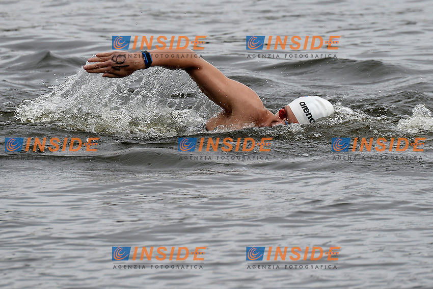 Evgenii Dratchev Russia <br /> Open Water 25Km <br /> 32nd LEN European Championships  <br /> Berlin, Germany 2014  Aug.13 th - Aug. 24 th<br /> Day05 - Aug. 17<br /> Photo Andrea Staccioli/Deepbluemedia/Insidefoto