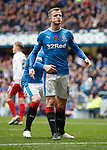 Andy Halliday after scoring