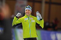 SPEEDSKATING: BERLIN: Sportforum Berlin, 27-01-2017, ISU World Cup, 500m Men A Division, winner Nico Ihle (GER), ©photo Martin de Jong