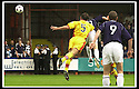 05/08/2001          Collect Pic : James Stewart .Ref : DSC_4758                          .File Name : stewart08-falkirk v ayr utd.FALKIRK'S JOHN HENRY GETS IN BEFORE AYR'S JOHN HUGHES (5) TO HEAD HOME FALKIRK'S GOAL......James Stewart Photo Agency, Stewart House, Stewart Road, Falkirk. FK2 7AS      Vat Reg No. 607 6932 25.Office : +44 (0)1324 630007     Mobile : + 44 (0)7721 416997.Fax     :  +44 (0)1324 630007.E-mail : jim@jspa.co.uk.If you require further information then contact Jim Stewart on any of the numbers above.........