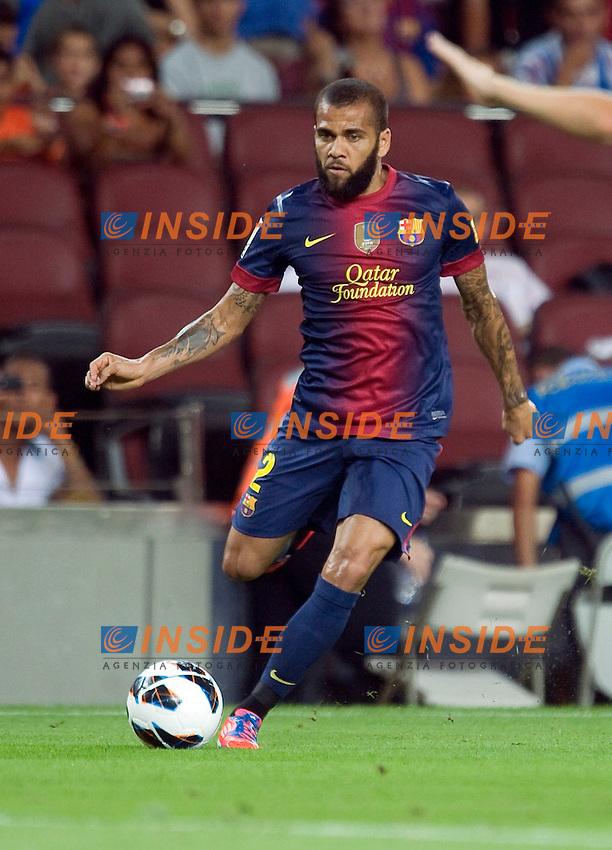 Dani Alves (Barcelone) .Barcellona 19/08/2012.Football Calcio 2012/2013.Barcelona vs Real Sociedad.Liga spagnola.foto Insidefoto .Italy Only