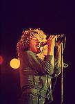 The Who 1976 Roger Daltrey at Charlton<br /> &copy; Chris Walter