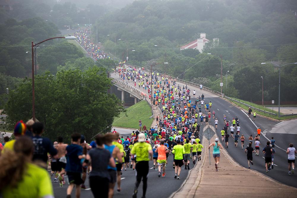 Austin's Cap10K is the largest 10K race in Texas.