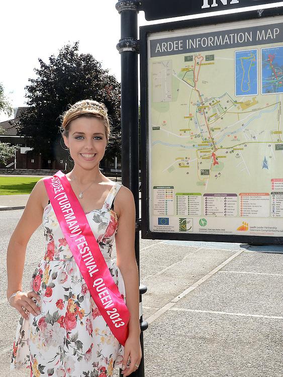 Ardee Turfman Festival Queen 2013 Louise Flanagan. Photo:Colin Bell/pressphotos.ie