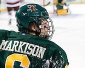 Colin Markinson (Vermont - 6) - The University of Massachusetts (Amherst) Minutemen defeated the University of Vermont Catamounts 3-2 in overtime on Saturday, January 7, 2012, at Fenway Park in Boston, Massachusetts.