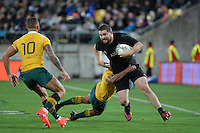 All Blacks' Dane Coles in action during the All Blacks v Wallabies. The Rugby Championship &amp; Bledisloe Cup at Westpac Stadium, Wellington, New Zealand on Saturday 27 August 2016.<br /> Photo by Masanori Udagawa. <br /> www.photowellington.photoshelter.com.
