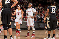 Stanford, CA, January 10, 2016<br /> Stanford Women's Basketball vs Colorado at Maples  Pavilion. Stanford won 71 - 56.