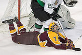 Gino Guyer - The University of Minnesota Golden Gophers defeated the University of North Dakota Fighting Sioux 4-3 on Saturday, December 10, 2005 completing a weekend sweep of the Fighting Sioux at the Ralph Engelstad Arena in Grand Forks, North Dakota.