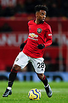 Angel Gomes of Manchester United during the Premier League match at Old Trafford, Manchester. Picture date: 11th January 2020. Picture credit should read: James Wilson/Sportimage