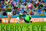 Colm Cooper, injured Kerry in Action Against  Tyrone in the All Ireland Semi Final at Croke Park on Sunday.