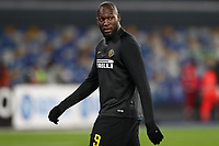 Romelu Lukaku of Inter during the warm up<br /> Napoli 06-01-2020 Stadio San Paolo <br /> Football Serie A 2019/2020 <br /> SSC Napoli - FC Internazionale<br /> Photo Cesare Purini / Insidefoto