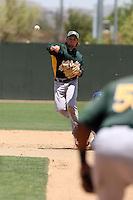 Shane Boras - 2012 Oakland Athletics extended spring training (Bill Mitchell)