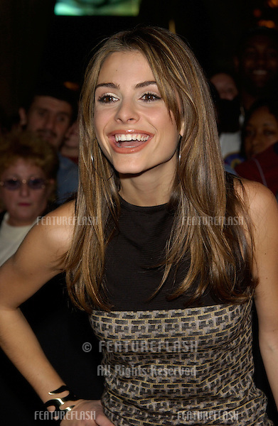 TV presenter MARIA MENOUNOS at the 2002 Fox Billboard Bash in Las Vegas. The party is the pre-event for the Billboard Music Awards..08DEC2002.  © Paul Smith / Featureflash