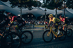 Yellow Jersey Egan Bernal (COL) and Team Ineos on the Champs-Elysees during Stage 21 of the 2019 Tour de France running 128km from Rambouillet to Paris Champs-Elysees, France. 28th July 2019.<br /> Picture: ASO/Thomas Maheux | Cyclefile<br /> All photos usage must carry mandatory copyright credit (© Cyclefile | ASO/Thomas Maheux)