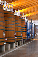 Fermentation tanks. Chateau Brane Cantenac, Margaux, Medoc, bordeaux, France