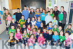 Tiernaboul NS pupils who held a cake sale and a county jersey day on FRiday