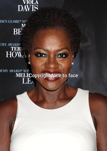 BEVERLY HILLS, CA- SEPTEMBER 12: Actress Viola Davis arrives at the 'Prisoners' - Los Angeles Premiere at the Academy of Motion Picture Arts and Sciences on September 12, 2013 in Beverly Hills, California.<br /> Credit: Mayer/face to face<br /> - No Rights for USA, Canada and France -