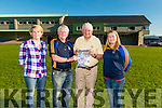 Launch of the Spa GAA Review 2015-2016 Booklet in the Spa GAA Club last Monday. Pictured L-R Anne Holland, Gerard Mangan, John Kelly and Deirdre O'Sullivan.
