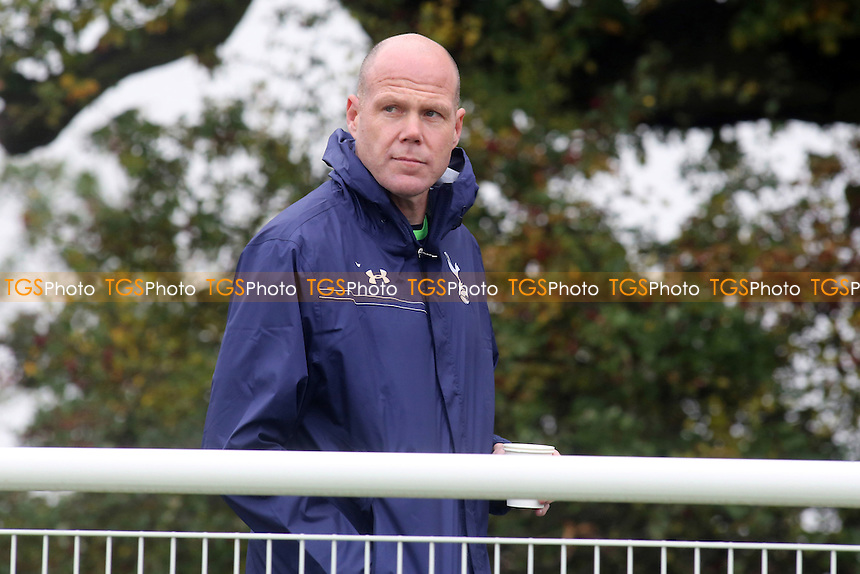 Brad Friedel of Tottenham was on the sidelines watching the Under 21's against Leicester - Tottenham Hotspur Under-21 vs Leicester City Under-21 - Barclays Under-21 Premier League Football - 21/10/13 - MANDATORY CREDIT: Paul Dennis/TGSPHOTO - Self billing applies where appropriate - 0845 094 6026 - contact@tgsphoto.co.uk - NO UNPAID USE