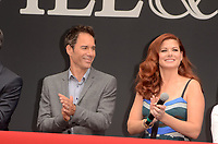 "Eric McCormack, Debra Messing<br /> at the ""Will & Grace"" Start of Production Kick Off Event, Universal Studios, Universal City, CA 08-02-17<br /> David Edwards/DailyCeleb.com 818-249-4998"