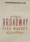 at the 27th Annual Broadway Flea Market & Grand Auction to benefit Broadway Cares/Equity Fights Aids in Shubert Alley, New York City, New York.  (Photo by Sue Coflin/Max Photos)
