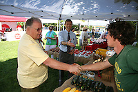 Mayor Brian Gilbride, Matt Laspia