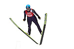 Carina Vogt of Germany jumps during the Women's Normal Hill Individual training session of the 2014 Sochi Olympic Winter Games at Russki Gorki Ski Juming Center on February 9, 2014 in Sochi, Russia. Photo by Victor Fraile / Power Sport Images