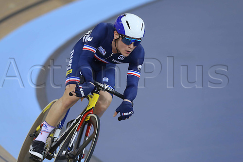 05.03.2016. Lee Valley Velo Centre, London, England. UCI Track Cycling World Championships Mens Omnium.   BOUDAT Thomas (FRA)
