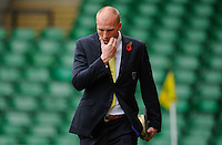 Norwich City Goalkeeper John Ruddy arrives at Carrow Road during the Barclays Premier League match between Norwich City and Swansea City played at Carrow Road, Norwich on November 6th 2015