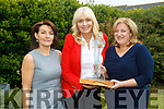 Broadcaster, Miriam O'Callaghan with winner of the Mary Cummins Award Dearbhail McDonald and organiser of Women in Media Joan O'Connor.