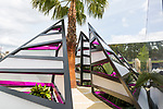 The Bermuda Triangle. Designed by: Jack Dunckley. Sponsored by: Conyers Dill & Pearman, Bermuda Tourism Authority, Jack Dunckley Ltd. RHS Chelsea Flower Show 2017. Stand no. Fresh Garden 80