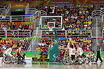 General View,<br /> SEPTEMBER 11, 2016 - Wheelchair Basketball : <br /> Preliminary Round Group A<br /> match between Japan - Canada<br /> at Rio Olympic Arena<br /> during the Rio 2016 Paralympic Games in Rio de Janeiro, Brazil.<br /> (Photo by Shingo Ito/AFLO)