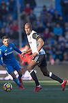 Geoffrey Kondogbia of Valencia CF in action during the La Liga 2017-18 match between Getafe CF and Valencia CF at Coliseum Alfonso Perez on December 3 2017 in Getafe, Spain. Photo by Diego Gonzalez / Power Sport Images