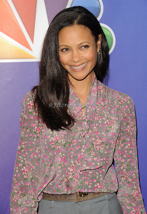 Thandie Newton arriving at the NBCUniversal Winter TCA Press Tour Day 2 held at the Langham Huntington Hotel in Pasadena Ca. January 16, 2015